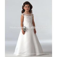 Art- und Weisebaby-Hochzeitskleid der heißen Art des Verkaufs 2016 weißes langes