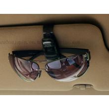 Clip de lunettes de soleil de lunettes de voiture colorées de vente chaude d'OEM
