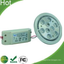 9 * 2W 18W AR111 G53 LED lámpara