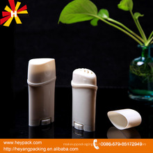 Bloc de déodorant vide en plastique de 50 ml