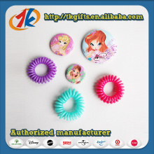 Girls Beautiful Hair Ring and Badges Toy for Sale