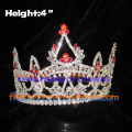 4inch Red Diamond Queen Crowns