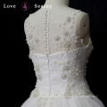 XW6704 lace ball gown wedding dress with crystals new model 2017 wedding dress