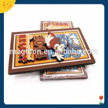 Top quality 3d soft pvc souvenir fridge magnet
