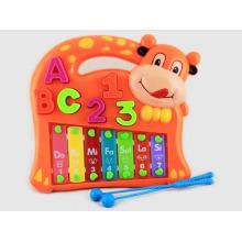 Xilofone de vaca Cartoon crianças de plástico para venda (10222011)