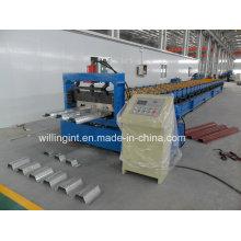 Machine de formage de rouleaux de plate-forme de plancher en tôle d'acier inoxydable