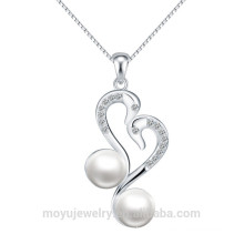 Wholesale factory direct 925 silver pearl pendant