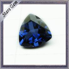 Triangle Brillant Cut 5X5mm Vente chaude Bleu Corindon Saphir