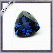 Triangle Brilliant Cut 5X5mm Hot Sale Blue Corundum Sapphire