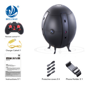 New 4 axis uav RC Flying Egg Toy RC Drone