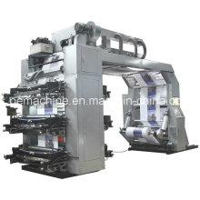 Machine d'impression Flexo haute vitesse à 6 couleurs (CE)