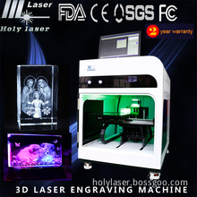 New Equipment Personalized for 3D Photo Engraver and Crystal Inside Portable 3D Printer Laser Engraving Machinery Price (HSGP-4KB)