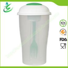 800ml Großhandel Salat Cup mit Gabel und kleinen Container