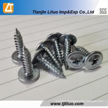 Vis autotaraudeuse à tête bombée modifiée zinc-Phillips