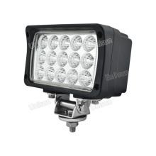 24V 7inch 45W Wide Flood luz de trabalho LED