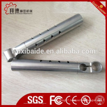 Aluminum Material cnc machining parts/CNC or stamping aluminum tube with micro hole