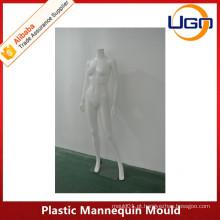 Fabricação de fábrica de manequim feminino de corpo inteiro matt branco