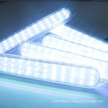 Haute qualité Date 280 * 45mm 36leds programmable LED lumière Magic couleur adressable rgb pixel led éclairage pour l'amusement en plein air