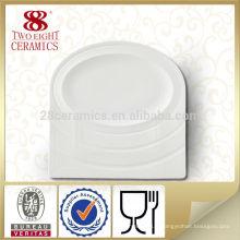 2015 Chaozhou plaques en céramique bon marché nourriture plaque personnalisée