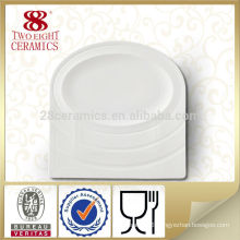 2015 Chaozhou cheap ceramic plates food customized plate
