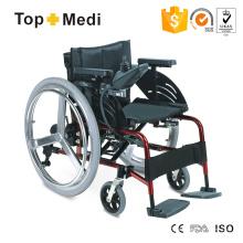 Topmedi Three Fork Drive Wheels Lithium Battery Power Electric Wheelchair