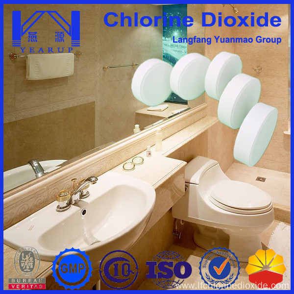 Chlorine Dioxide Tablet As Deodorizing Agents For Toilet China Manufacturer