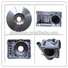 cast aluminum motor housing, electric motor housing