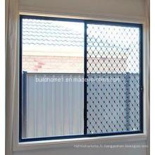Fenêtre de grille de sécurité de qualité résidentielle