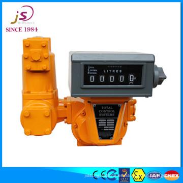 Flujómetro volumétrico TCS para combustible