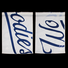 Blue Logo Various Sizes Self-adhesive Plastic Bag