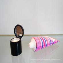 Nouvelle conception PAC avec miroir pour l'emballage cosmétique maquillage