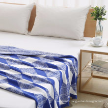 Cotton Warm Color Blanket Home Blanket Knitted Technics Adult for Winter Wholesale