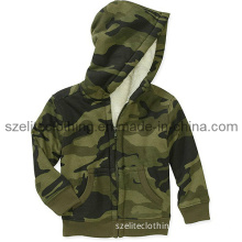 Custom Printed Camouflage Children Hoodies (ELTCCJ-107)