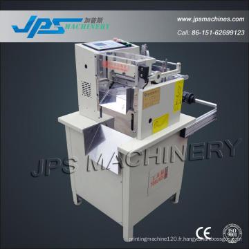 Auto papier thermique, papier autocollant, machine de coupe du papier d'étiquette