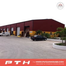 2015 Pth Prefab Customized Steel Structure Warehouse with Easy Installation