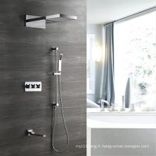 Mélangeur de douche mural à quatre fonctions HIDEEP