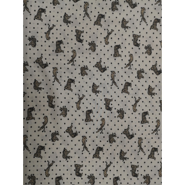 Tissu Dots Animal Rayon Challis 32S
