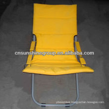 Sun chair with pillow 600D polyester fabric