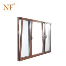 Swing opening type aluminum clad wood tilt and turn window
