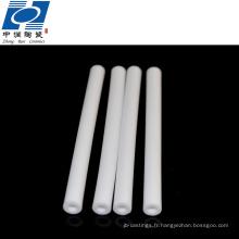 cylindre industriel de bague en céramique d'alumine d'isolant de bague industrielle élevée
