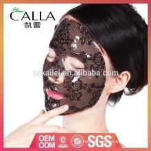 Chine fabricant dentelle hydrogel hydratant masque facial avec la meilleure qualité et bas prix