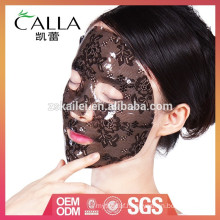China manufacturer lace hydrogel moisturizing facial mask with best quality and low price