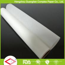 Rolo de papel de cozimento resistente ao calor de 40g 15m antiaderente