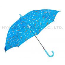 Paraguas reflectante auto abierto para niños