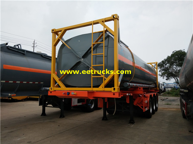 28 CBM 20ft Sulfuric Acid Tank Containers