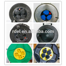 uk plastic cable reel ;european cable reel with ip44 socket British Injection Moulding