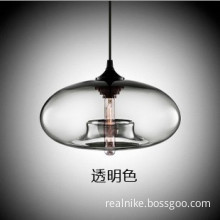 Modern Decorative Vintage Light Glass Shade Edison Bulb Pendant Lamp (D2082)