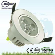 3W conduziu abaixo da luz com certificado de CE & ROHS