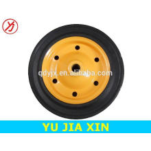 13 inch solid rubber cart wheel