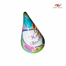 Colorful Paper Hats For Birthday With Custom Printed